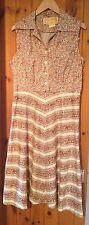 Vintage Floral Sundress/Ditsy Summer Dress/Size 16/Berketex/1960's/70's/Shirt