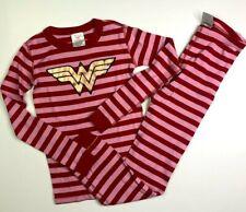 Hanna Andersson Girls Marvel Wonder Woman PJ set Pajamas 150 12