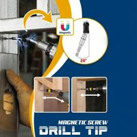Magnetic Screw Drill Tip Quick Change Locking Bit Holder with Spring Release