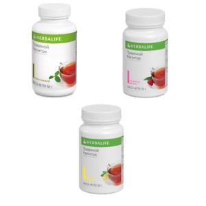 Herbalife Tea Concentrate 50 gr Classic, Raspberry, Lemon, Peach