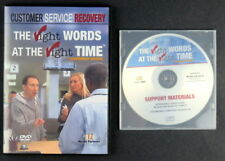 RIGHT WORDS AT THE RIGHT TIME Customer Service Recovery CD DVD Gov't Version
