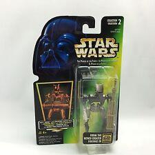 Star Wars POTF2/ASP-7 DROID Figure/Kenner 1996/Green HOLO Card NEW/MOC #2/2