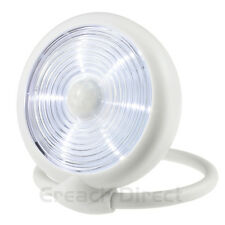 WOWlights LED Motion Sensor Light Battery Wireless PIR Night Light 08E-WT