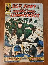 SGT.  FURY AND HIS HOWLING COMMANDOS #32 GD(1966) Reader Copy