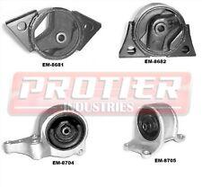 Engine & Trans Mount Set for 1993-2001 Nissan Altima 2.4L Auto Trans