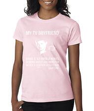 allwitty 1097 - Women's T-Shirt My TV Boyfriend Dean Supernatural