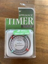 Intermatic Lamp/Appliance Timer Model TN111C New Sealed Packaging Easy Set Dial