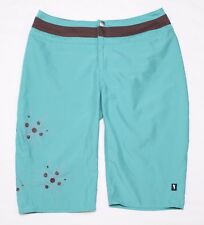 HORNY TOAD Women's Jet-Lite Teal Bermuda Shorts, Size 4, MINT!!