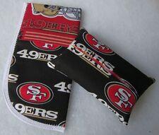 NEW San Francisco 49'ers Mascot Fabric Tissue Holder & Glasses Case Gift Set