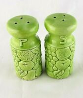 Vintage Salt & Pepper Chartreuse Green