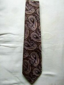 TOOTAL PAISLEY PATTERN VINTAGE TIE 1960s 1970s