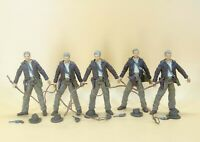 lot of 5 Indiana Jones KINGDOM OF THE CRYSTAL SKULL action figure loose #bvd4