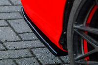 Heckansatz Diffusor Spoilerecken Seitenteile aus ABS für Audi A3 8V Limo Cabrio