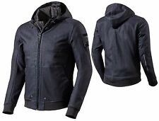 GIACCA FELPA JACKET JEANS MOTO REV'IT REVIT STEALTH DENIM BLU IMPERMEABILE TG XL
