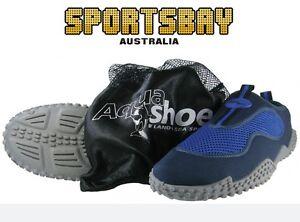 [UNISEX SIZES] Land & Sea Aqua Shoes (Reef, Fishing, Beach) + Mesh Bag | SAVE $$