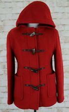 JOHN PARTRIDGE Red Duffle Coat Size Uk 10