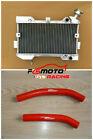 Aluminum Radiator + Red Hose For Suzuki Ltr450 Ltr 450 Lt450r 06-09 2006 2007 08