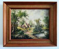 Huile sur toile de style 18ème flamand