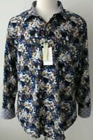 Robert Graham Mens Classic Fit Floral BASSETT Sport Shirt Size XL - NWT $198