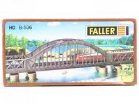 HO 1/87 Scale FALLER B-536 Arch Bridge Plastic Structure Kit