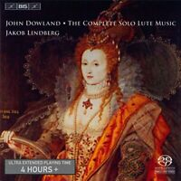 Jakob Lindberg - Dowland: Complete Solo Lute Music [CD]