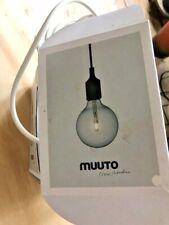 MUUTO E27 WHITE PENDANT LIGHT in BOX
