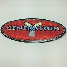 "New! Bumper Sticker - ""GENERATION Y"""