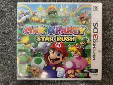 Mario Party Star Rush - Nintendo 3DS Brand New & Factory Sealed UK