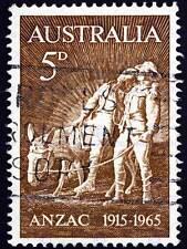FRANCOBOLLO AUSTRALIA VINTAGE Simpson Asino Foto art print poster bmp1622b