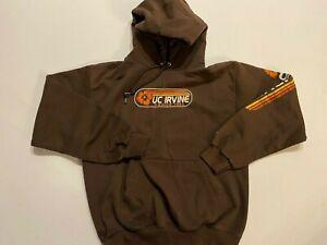 Champion UC IRVINE 1965 Pullover Fleece Hoodie Sweatshirt Men's Small