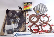 PERFORMANCE 700R4 GM TRANS REBUILD KIT 87-93 Stage-1 Clutches + Shift Kit + Band