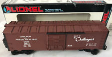 Lionel Trains 6-16617 ~ Chicago & Northwestern Boxcar w/ E.T.D. ~ NEW IN BOX