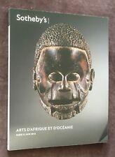 catalogue de vente ARTS D'AFRIQUE ET D'OCÉANIE  Sotheby's 2012