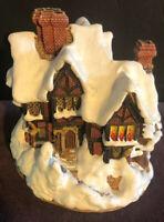 VINTAGE 1988 Lilliput Lane DEER PARK HALL Cottage from Christmas Collection