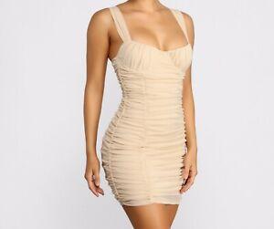 Ladies Brand NEW ZARA bodycon sleeveless dress - size S (UK10 - 12)