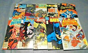 Lot of 50 Batman/Detective DC Comic  Books  L60