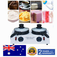Electric Double Chocolate Melting Pot Chocolate Melter + Ceramic Non-stick Pot