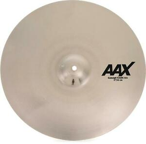 Sabian AAX Concept Crash Cymbal - 17 inch - Sweetwater Exclusive