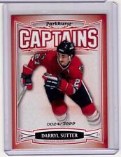 DARRYL SUTTER 06/07 Parkhurst CAPTAINS Insert Card #171 Chicago Blackhawks /3999