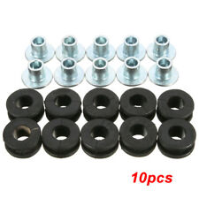 10* Motorcycle Rubber Grommets Bolt Kit For Honda Yamaha Suzuki Kawasaki Fairing