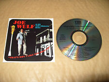 Joe Wulf & His New Orleans Boys That's Why I Like N.. Orleans cd 17 tracks ex
