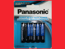 5x AAA Type Panasonic Carbon Zinc Batteries Battery