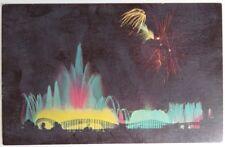 1964 NEW YORK WORLD'S FAIR FOUNTAIN OF PLANETS POSTCARD - UNUSED      (INV15010)