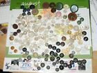 Vintage button lot, Bone, Mother of pearl. Many other types.