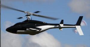 Airwolf-Rumpf 450/V2 für 450er Hubschrauber