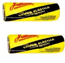 "2x JALOMA Venda Elastica Elastic BANDAGE 5.90"" x 16.40' Feet ( 5 Metr x 15 cm )"