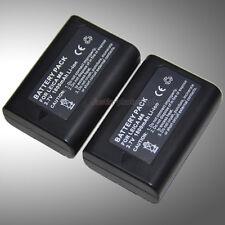 2x 3.7V 1800mAh Battery Pack for Leica BM8 M8 M8.2 14464 BLI-312 Digital Camera