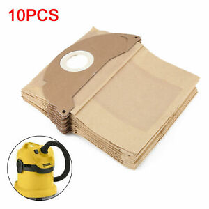 TEN 10 x Dust Bags for Karcher WD2.200 MV2 IPX4 WD2240 Vacuum Cleaner Hoover