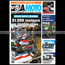 LA VIE DE LA MOTO LVM N°681 GUZZI V50 V35 MOTOBECANE 125 D45 EXPO MOTORAMA 2011