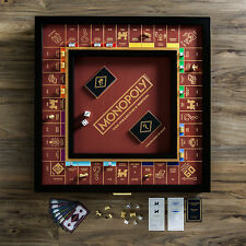 Monopoly - The Franklin Mint Collector's Edition Wood Cabinet Board Game